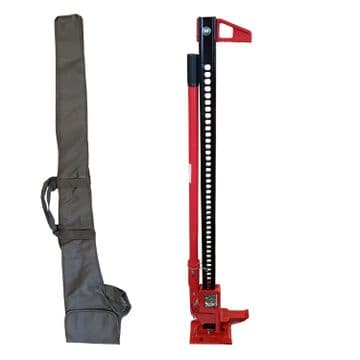 """48"""" FARM JACK with CARRY / STORAGE CASE 4 x 4 tractor offroad recovery off road"""
